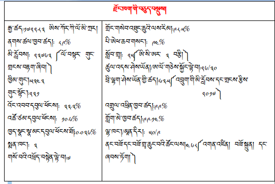 dzongkhag at a glance